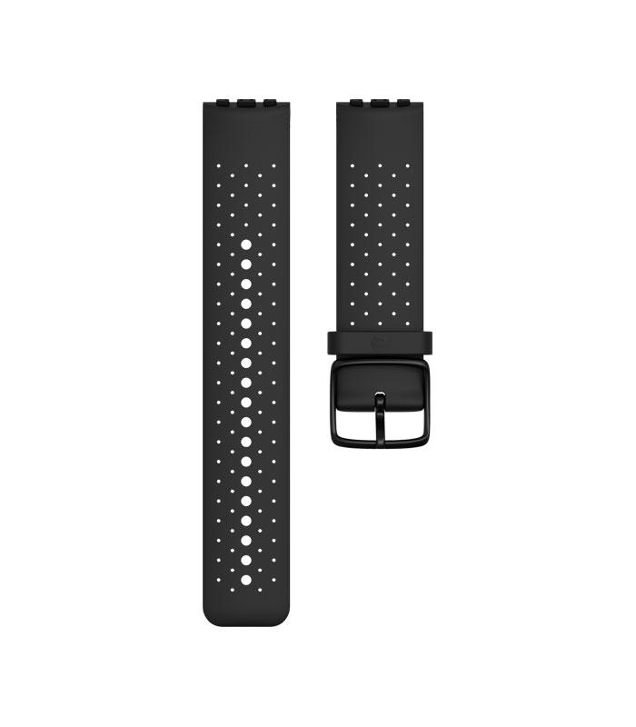 Сменный браслет для часов Polar Vantage M, цвет: черный